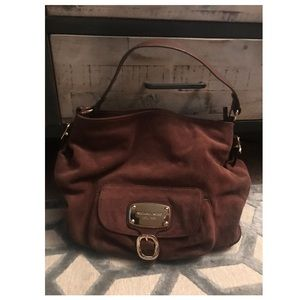 MICHAEL Michael Kors brown leather handbag